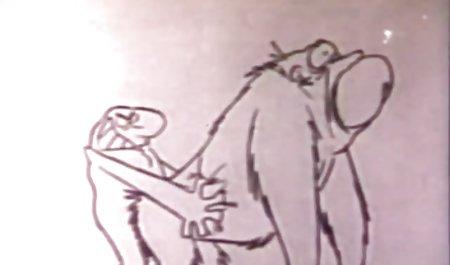 مرد عضلانی سبزه را روی سرطان گذاشت و با الاغ محکم لعنتی شد فیلم س خارجی